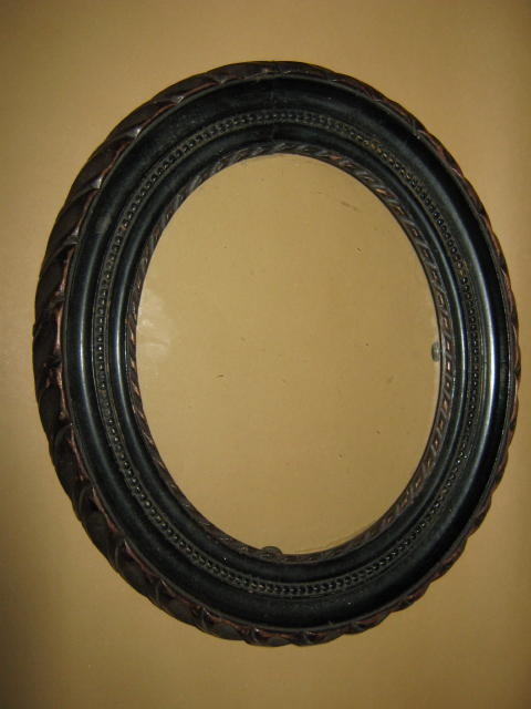 ANTIQUE CARVED PHOTOGRAPH FRAME