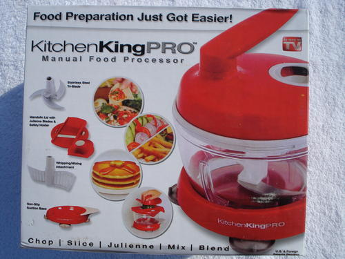 Food Processor As Seen On Tv ~ Other small appliances kitchen king pro manual food