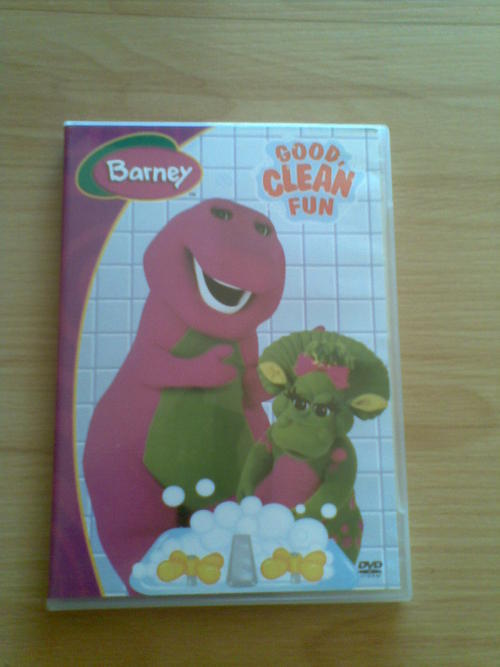 Movies Tv Vhs Kids Family Barney Good Clean