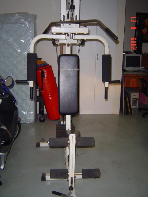 Exercise machines everyoung all in one home gym was sold