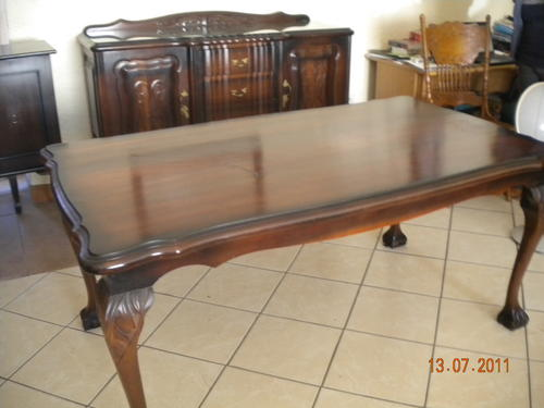 Tables Stunning Ball and Claw Imbuia 6 Seater Dining  : 1331165110713141026088 from www.bidorbuy.co.za size 500 x 375 jpeg 44kB