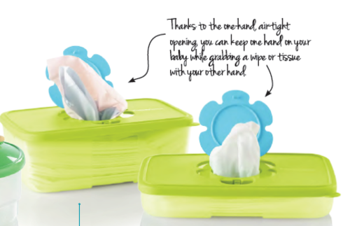 Wipes Tupperware Tissue Wipes Box Large New Product