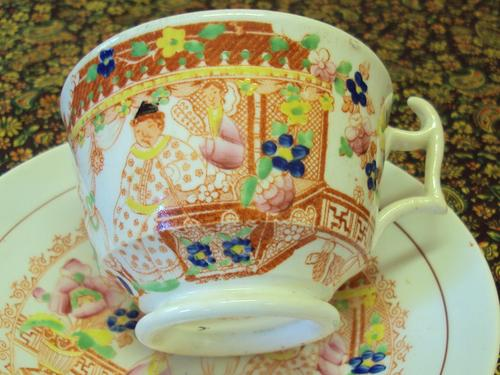 english porcelain hilditch and son 1822 1830 tea duo