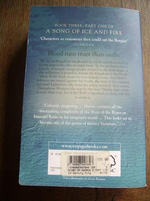 A Storm of Swords: Steel and Snow (A Song of Ice and Fire, Book 3 Part 1), Marti