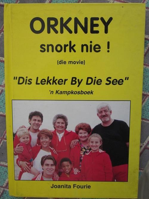 orkney snork nie dis lekker by die see