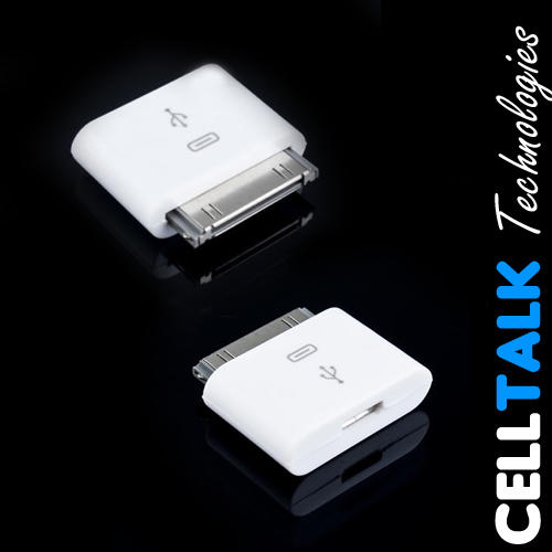 30Pin To Micro USB Converter Charger Adapter