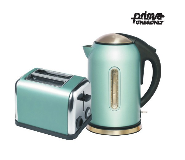 Other small appliances prima one only 2 piece kitchen for Kitchen set kettle toaster