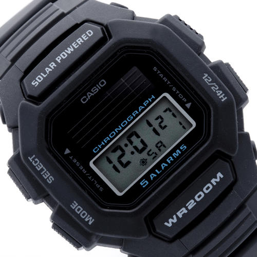 s watches casio solar powered digital hdd