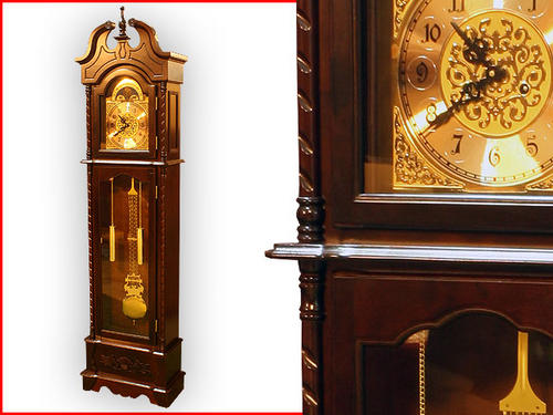 BRAND NEW GRAND FATHER CLOCK WITH PENDULUM WIND UP 2.1 METRE