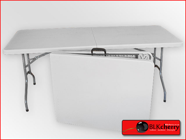 Plastic fold up table with handle, easy to transport, once paid via BOB collection or delivery f