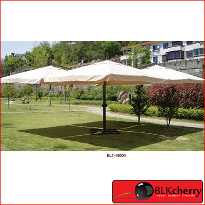 Large 4 Sided Canvas Umbrella