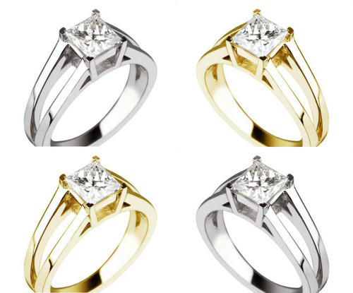Engagement Rings GIS CERT INCLUDED VALUE R100 602 0 76 CARAT PRINCESS VS2