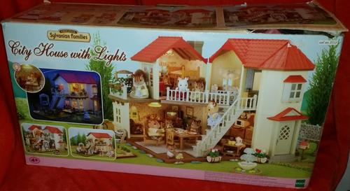 Other Toys - Sylvanian Families - City House with Lights ...