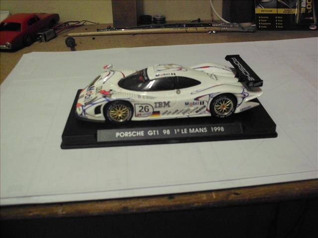 cars 1 32 scale slot car fly porsche 911 gt1 39 98 was sold for on 26 jul at 10 46 by. Black Bedroom Furniture Sets. Home Design Ideas