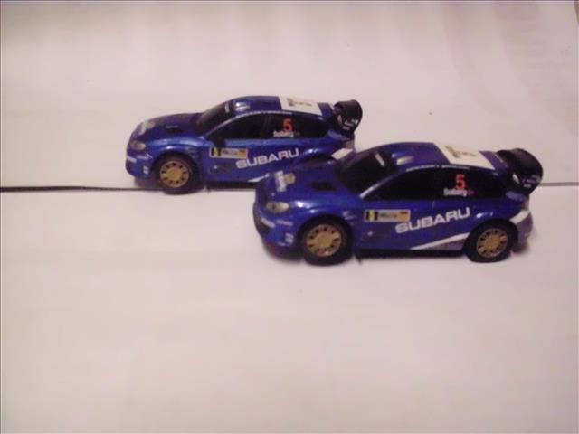 cars 143 scale carrera go slot cars subaru was sold for. Black Bedroom Furniture Sets. Home Design Ideas