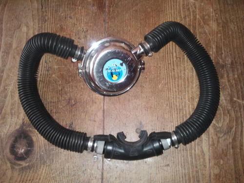 Underwater sex twin hose regulator
