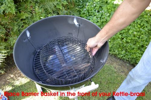 KettleCADDY Barrier Basket