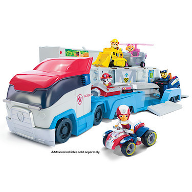 Other toys large deluxe paw patrol lorry paw patrol toys was