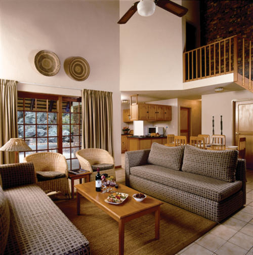 Lodge close to the Kruger Park. From 23 - 30 April 2010 in a 2 bedroom,