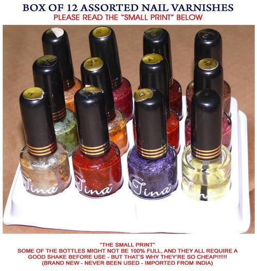 Nail Varnish Colours