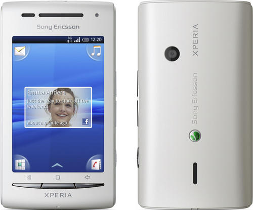 sony ericsson xperia x8 black mobile phone. Sony Ericsson XPERIA X8 E15i