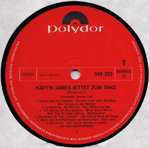 James Last - Heut' Geht's An Bord