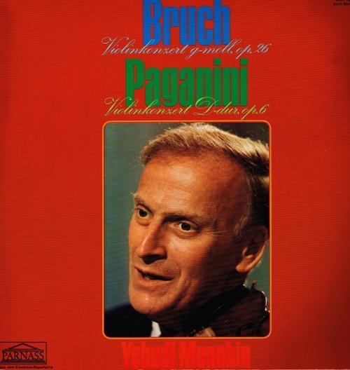 Max Bruch - Yehudi Menuhin - Violinkonzert G-Moll Op. 26 - Violinkonzert Nr. 2 H-Moll