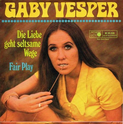 Gaby Vesper Die Liebe Geht Seltsame Wege