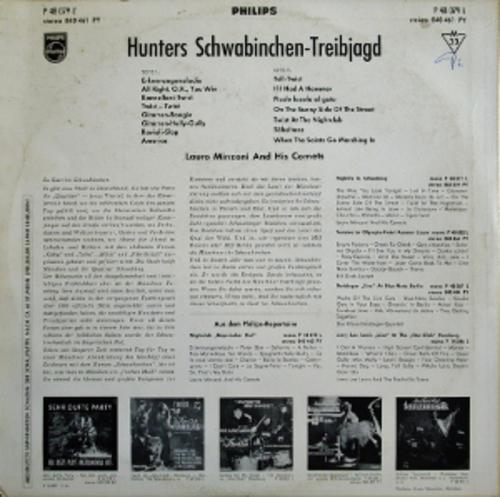 Lauro Minzoni And His Comets - Nightclub Bayerischer Hof