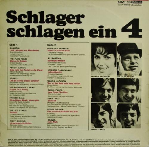 Various Schlager Schlagen Ein Rendezvouz Der Super Stars