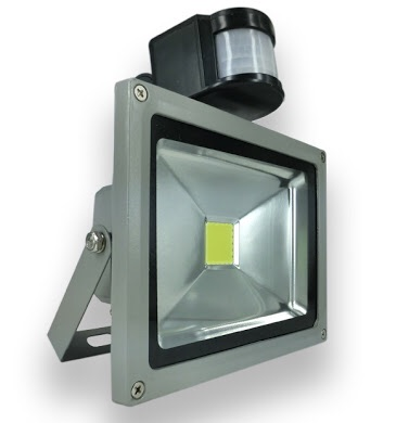 spot lights flood lights 20w led flood light with motion sensor. Black Bedroom Furniture Sets. Home Design Ideas