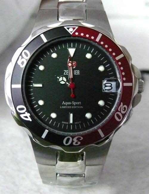 s watches beautiful zeitner aqua sport limited