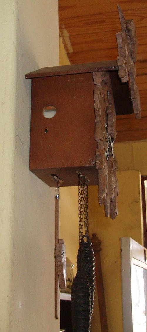 Cuckoo u0026 Wall Clocks - GENUINE ORIGINAL SWISS PERFECT CUCKOO CLOCK~BIRD POPS OUT~CRAZY R1 SALE ...