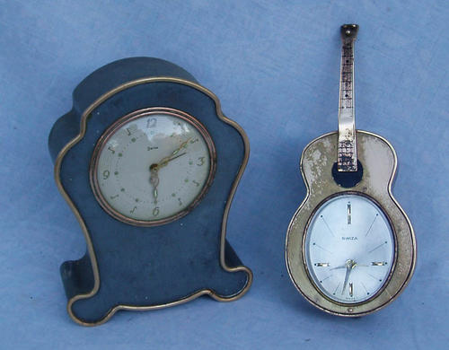 Alarm travel clocks crazy r1 sale unusual guitar Unique clocks for sale
