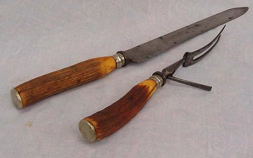 Carving Set   Red Hill Knives