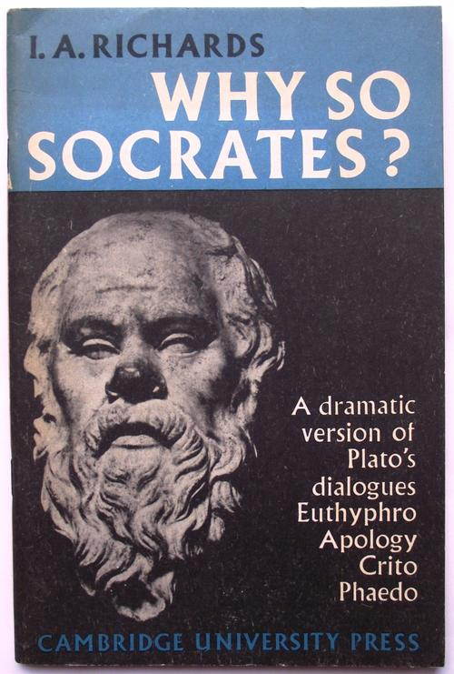 an analysis of socrates in platos euthyphro and crito and the apology The last days of socrates has 26,597 ratings and 639 reviews start by marking the last days of socrates: euthyphro / the apology / crito / phaedo as want to read: plato's socrates makes death seem even more enticing than do the monotheists.