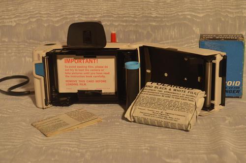 polaroid swinger film
