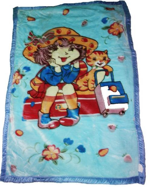1 PCE BEAUTIFUL SOFT AND THICK BABY BLANKET - 148CM X 100CM