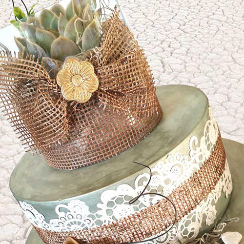 Cake Decorating - Ready made- Edible lace for cake ...