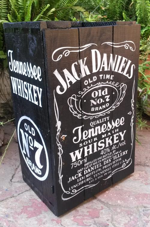 other bar accessories jack daniel 39 s wooden crate cupboard with shelf was sold for on. Black Bedroom Furniture Sets. Home Design Ideas
