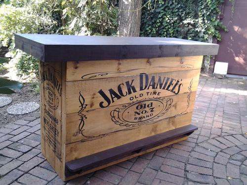 other bar accessories   jack daniels bar counter was