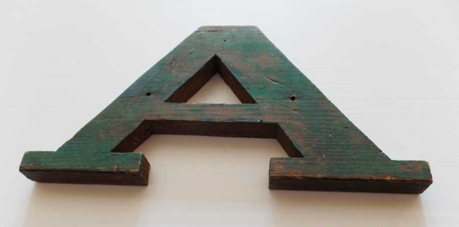 AFRICANA MUSEUM WOODEN LETTERING