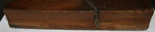 Antique Wooden No.18 Wide Round Cove Molding Plane