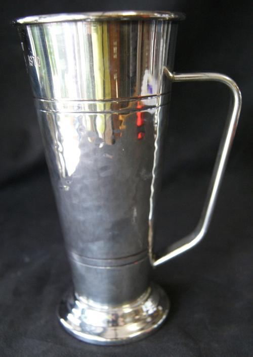 Vintage SAB 75 Year Commemoration Silver Plated Mug