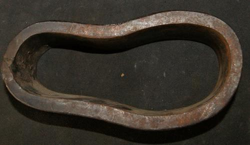 Vintage Cast Iron Cobbler's Small Leather Sole Cutter