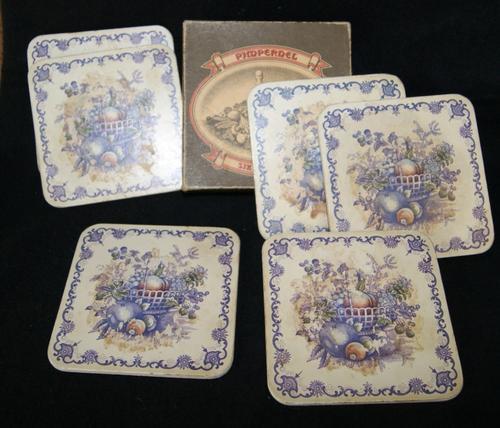 Pimpernel Set of 6 Coasters