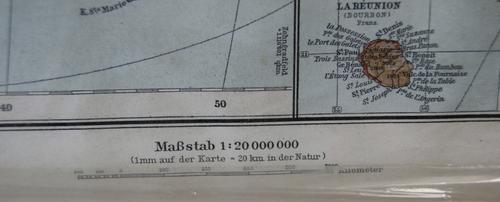 Vintage 1911 German Afrika Politische Ubersicht 79.80 Map of Africa Print - 1:20 000 000