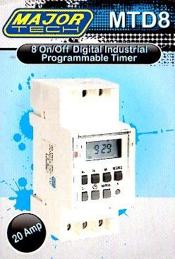 other electronics digital programmable timer mtd8 ideal for swimming pools heaters air
