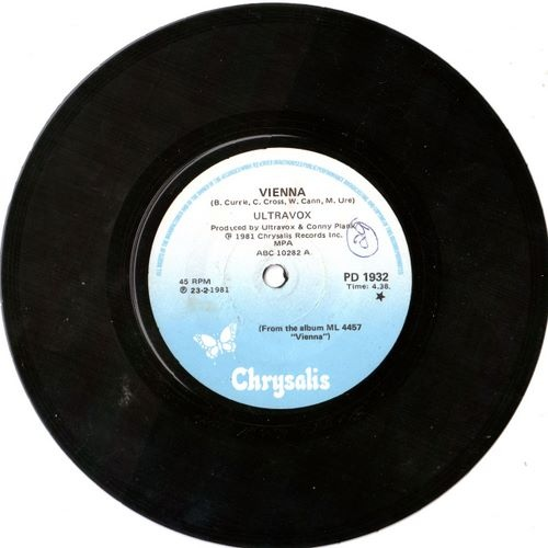 Ultravox vienna single