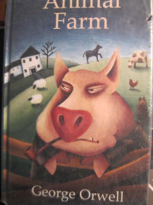 a summary of the animal farm by george orwell